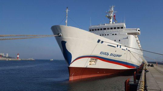 В июне теплоход «Князь Владимир» примет на борт первых туристов из Сербии