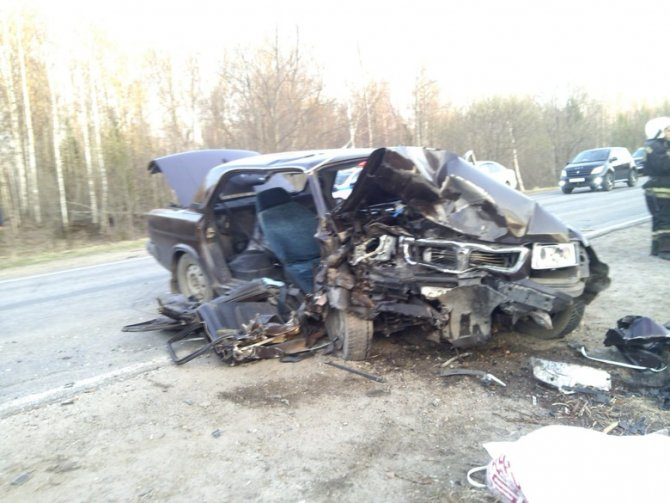 В ДТП под Томском погиб человек