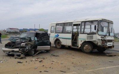 Автобус попал в ДТП вРузаевском районе Мордовии