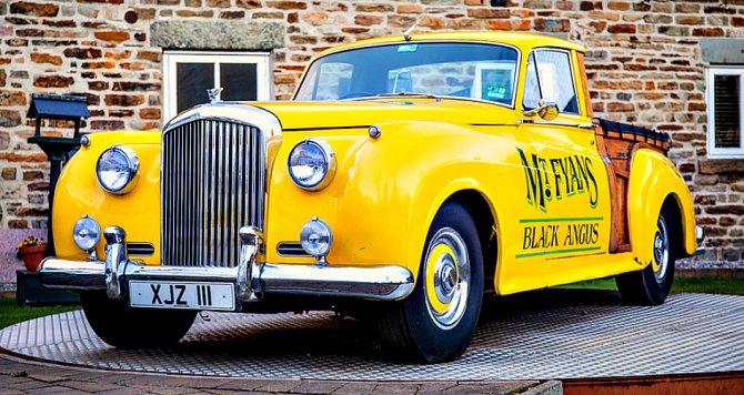Старина Bentley— единственный инеповторимый