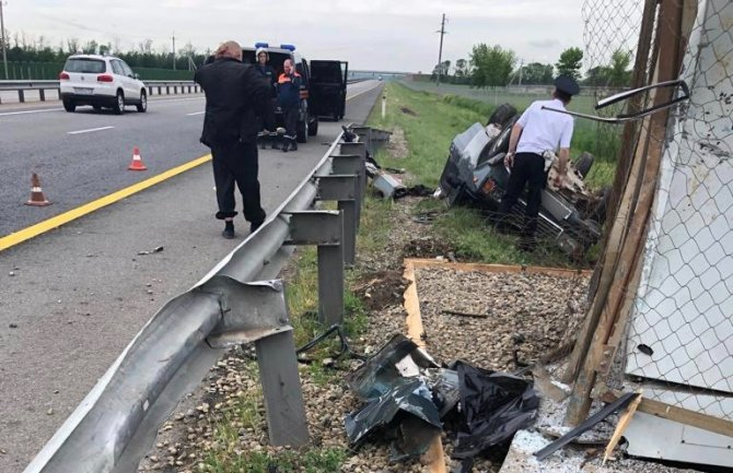 1,5-месячная девочка погибла в ДТП на Кубани