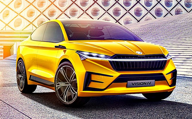 Skoda раскрыла дизайн своих электромобилей