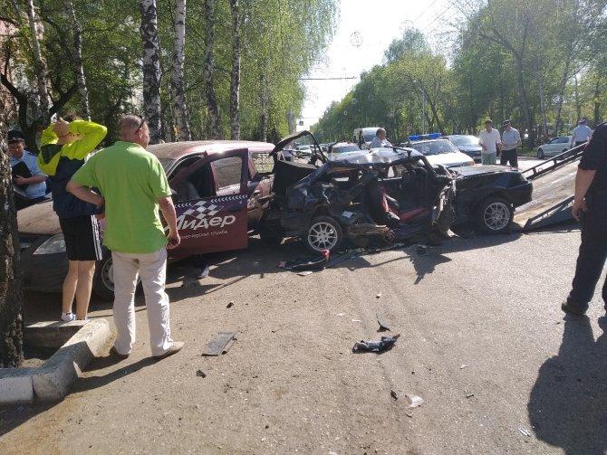 Пассажир ВАЗа погиб в ДТП в Башкирии