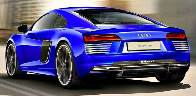 Выпуск спортивного Audi R8 e-Tron откладывается
