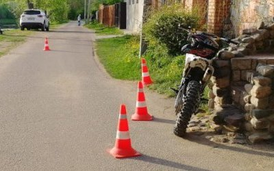 Мотоциклист сбил 5-летнего ребенка в Торжке