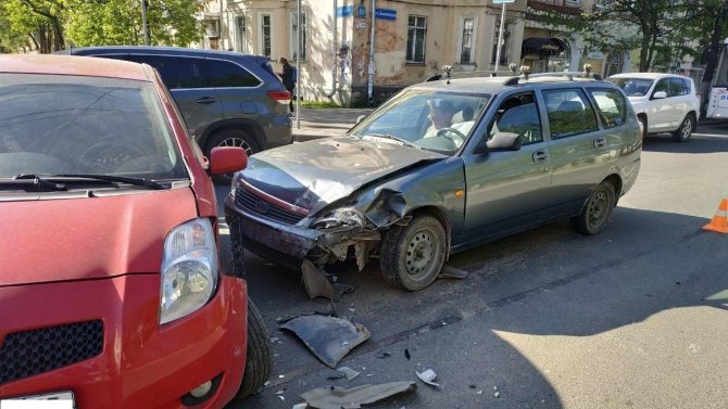 Ребенок пострадал в ДТП в Вологде