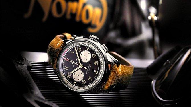 Norton Commando 961 получил спецверсию вчесть швейцарских часов