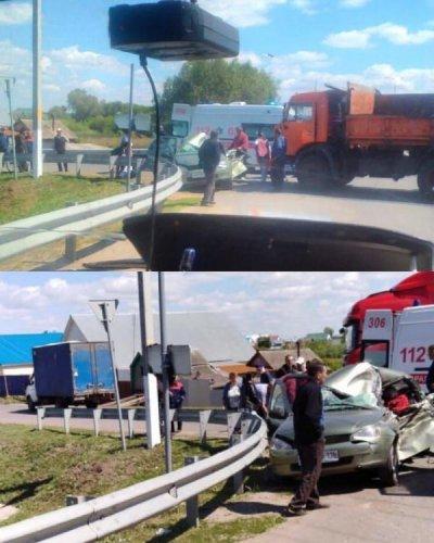Школьница погибла в ДТП с КамАЗом в Татарстане