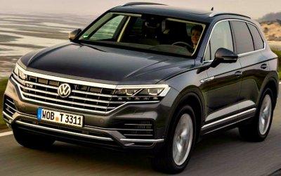 Впродажу поступил самый мощный Volkswagen Touareg