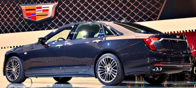 Cadillac CT6: опять изменения вмоторной линейке