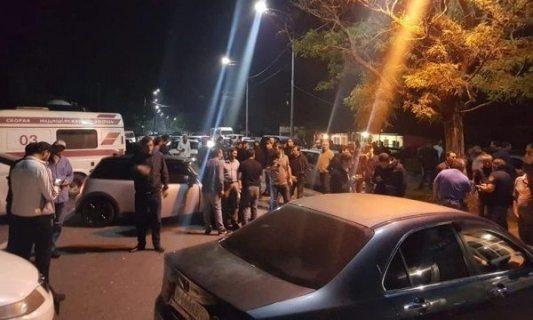 В Абхазии перекрыли трассу, ведущую из Сухума в Сочи