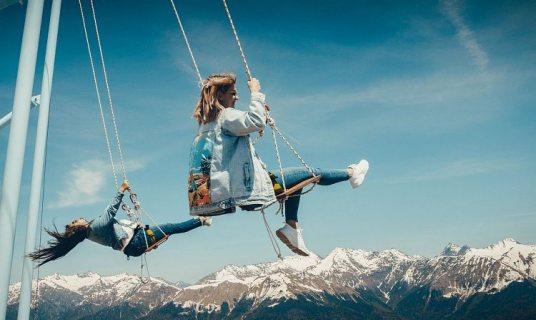 Захватывающий дух аттракцион открылся в горах Сочи