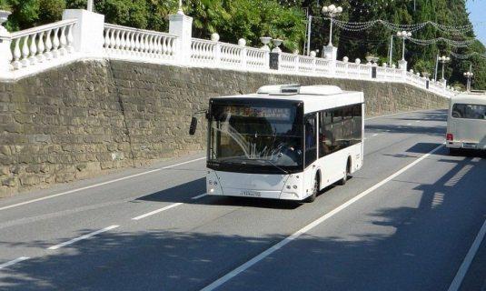 В Сочи завтра временно изменят схему движения автобусов