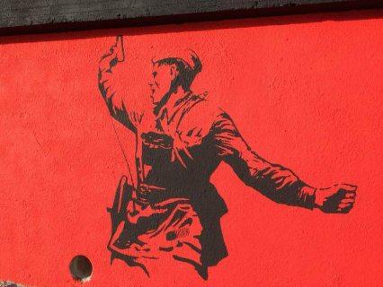 Самое большое граффити, посвященное Дню Победы, украсило стену морпорта в Сочи (ФОТО)