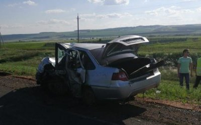 В ДТП под Уфой погиб человек