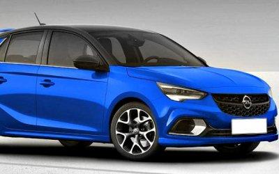 Стал известен дизайн нового Opel Corsa OPC