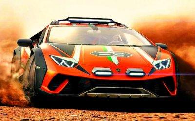 Mamma mia: вLamborghini разрабатывают внедорожный суперкар!