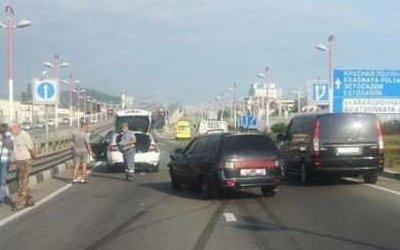 13-летняя девочка пострадала в ДТП в Сочи