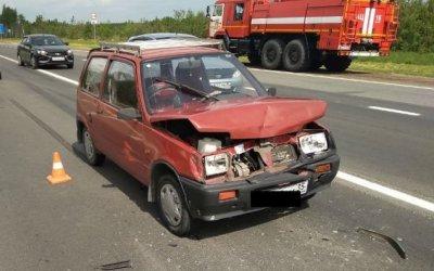 Женщина и двое детей пострадали в ДТП под Череповцом