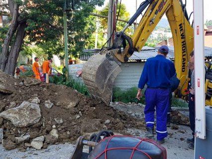 Застройщик в Сочи отказался ликвидировать аварию на своей линии электропередач, оставив без электричества несколько домов