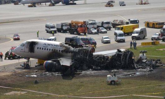 МАК опубликовал результаты расследования крушения самолета SSJ-100 в Шереметьево