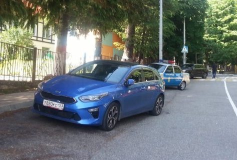 Годовалый ребенок пострадал при столкновении двух легковушек в Сочи