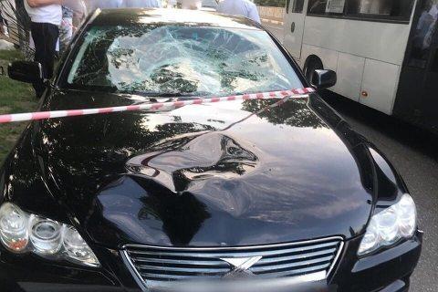 В Сочи пьяный полицейский на пешеходном переходе сбил двух девушек